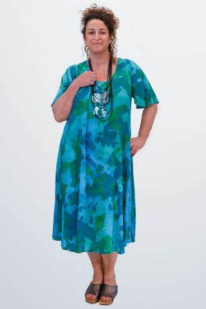 Angel Circle short sleeved dress