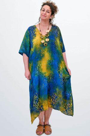 Angel Circle dip side dress