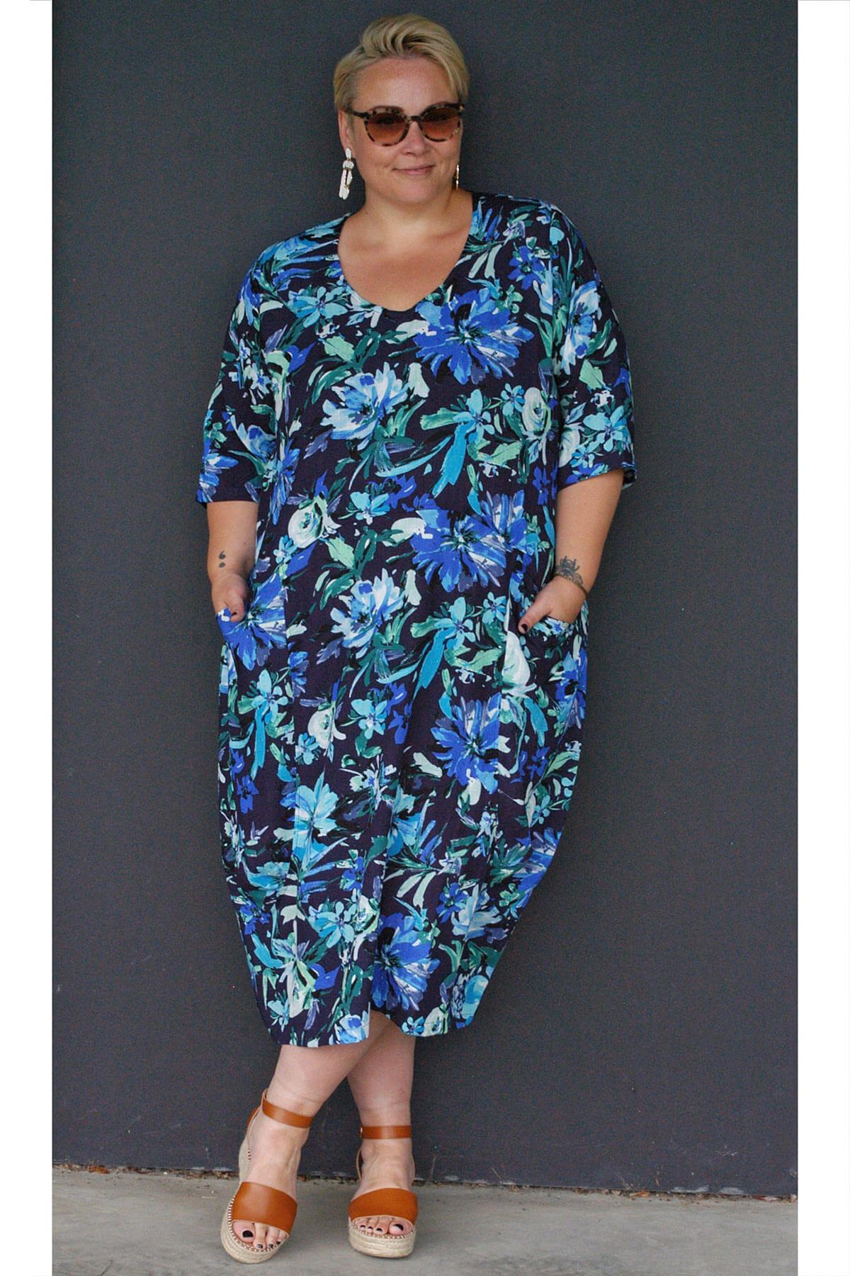 Kasbah Ramona floral dress