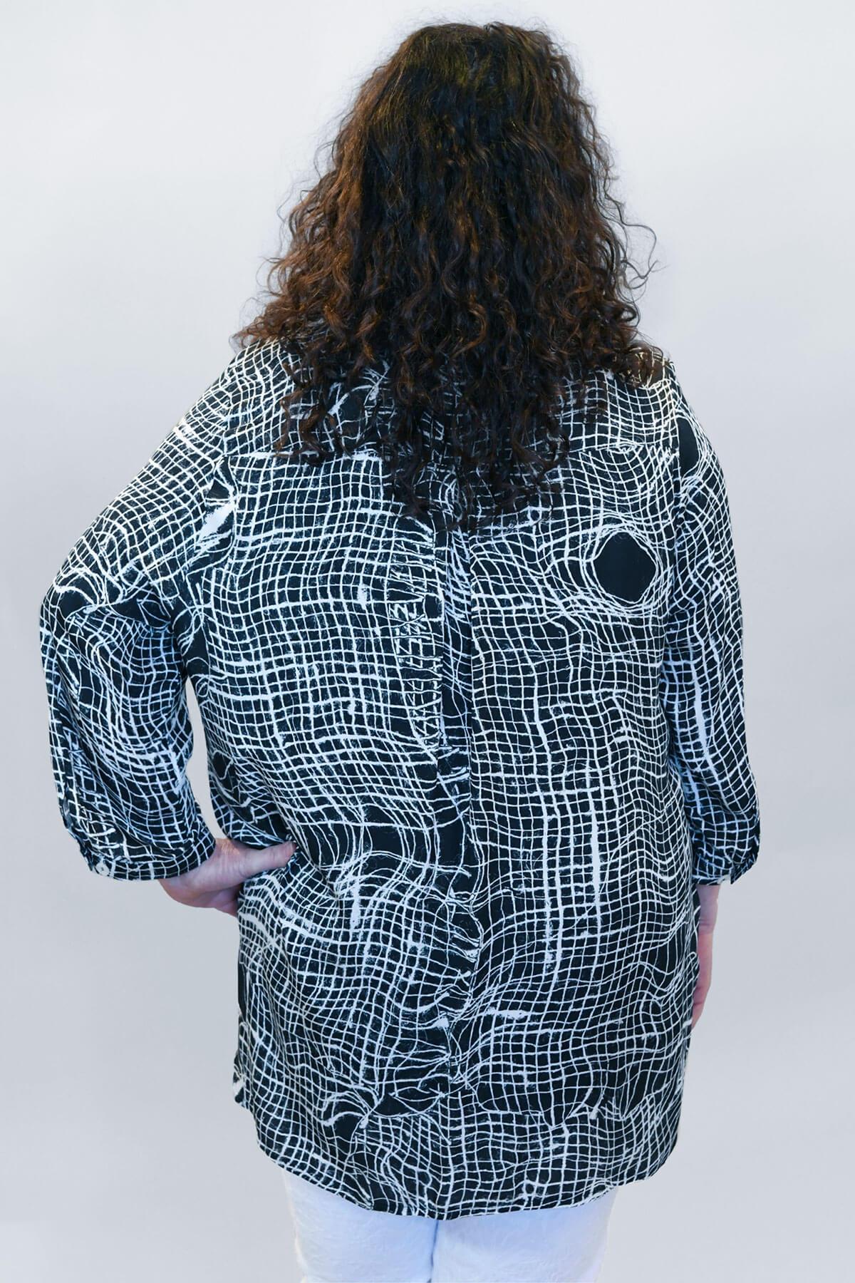 KJ Brand swirl shirt
