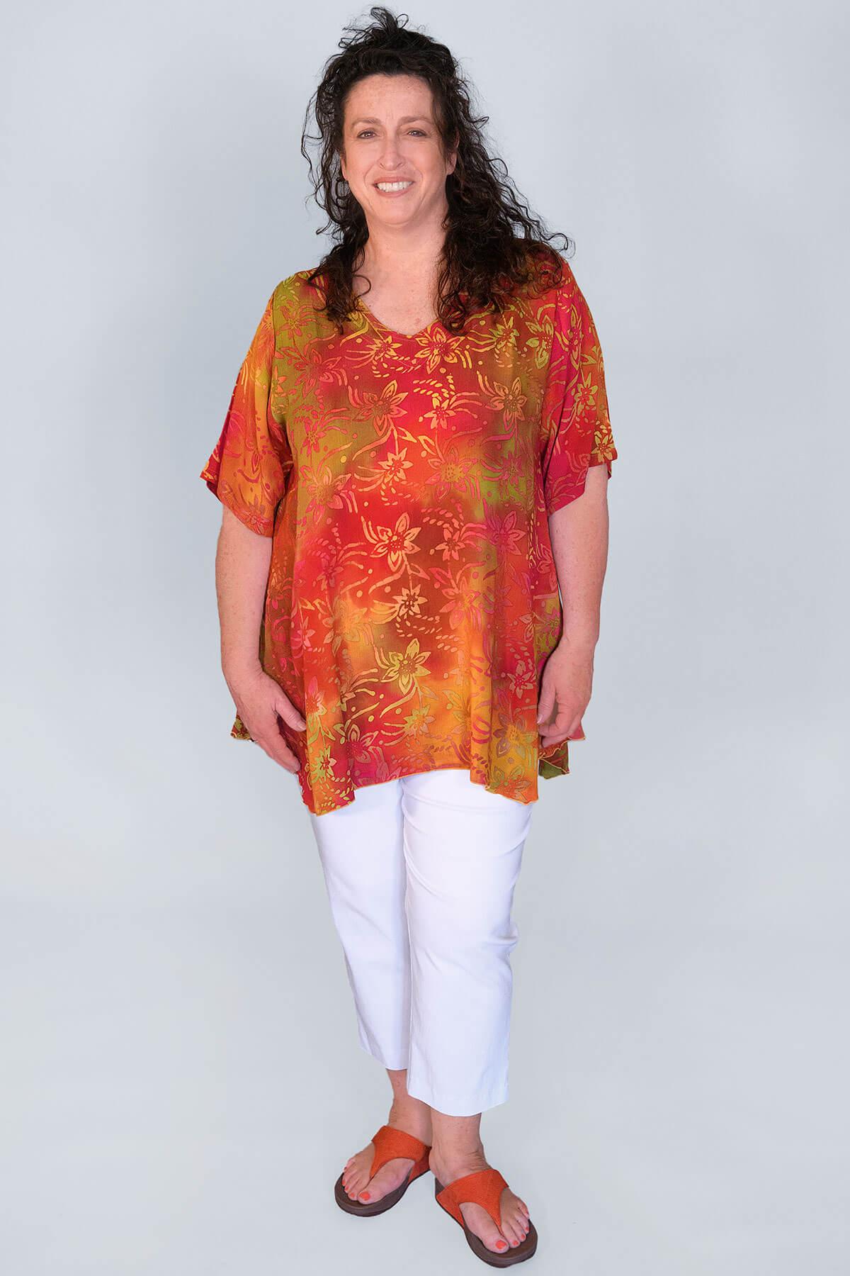 Angel Circle swing pattern t-shirt