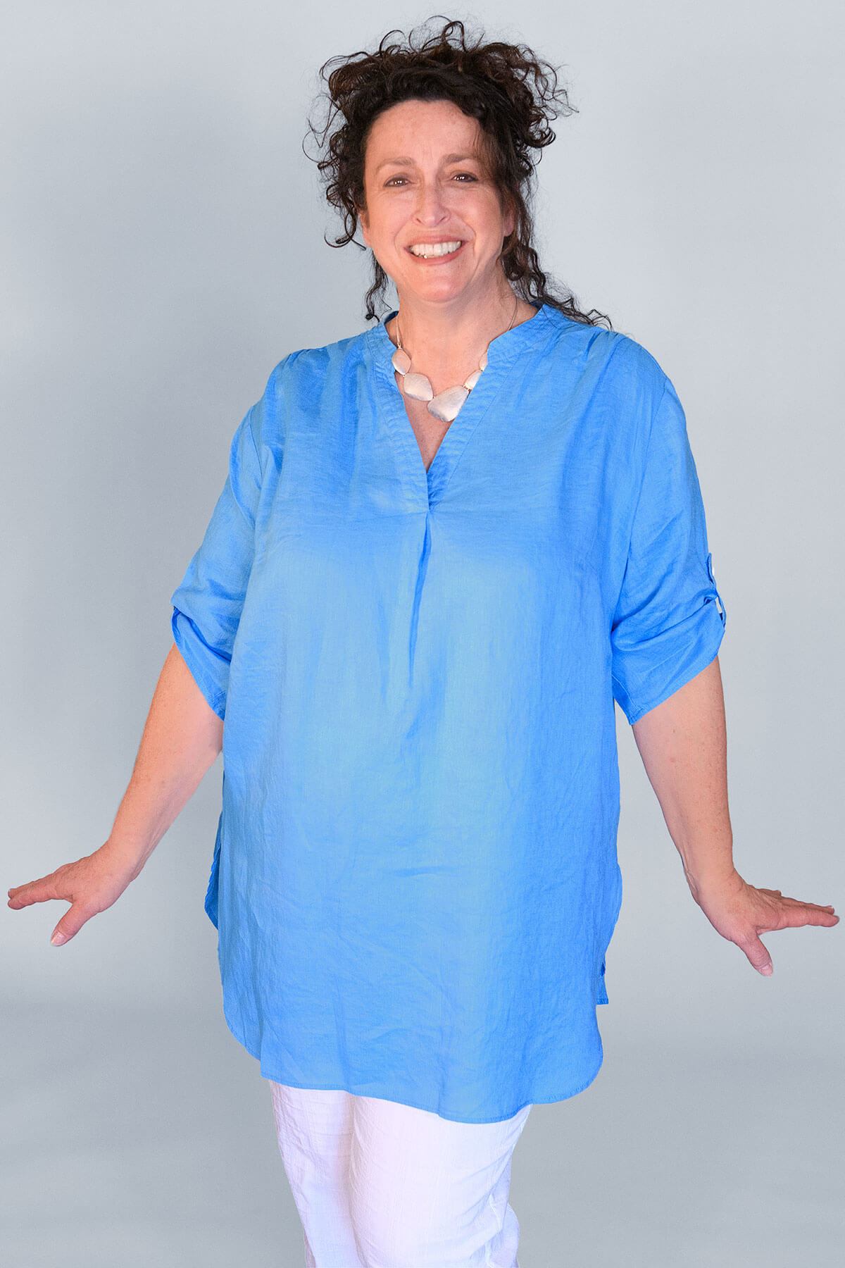 Doris Streich linen tunic