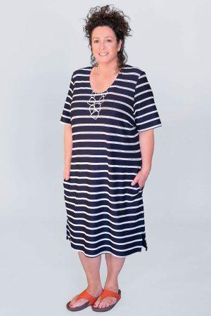 Mona Lisa striped dress