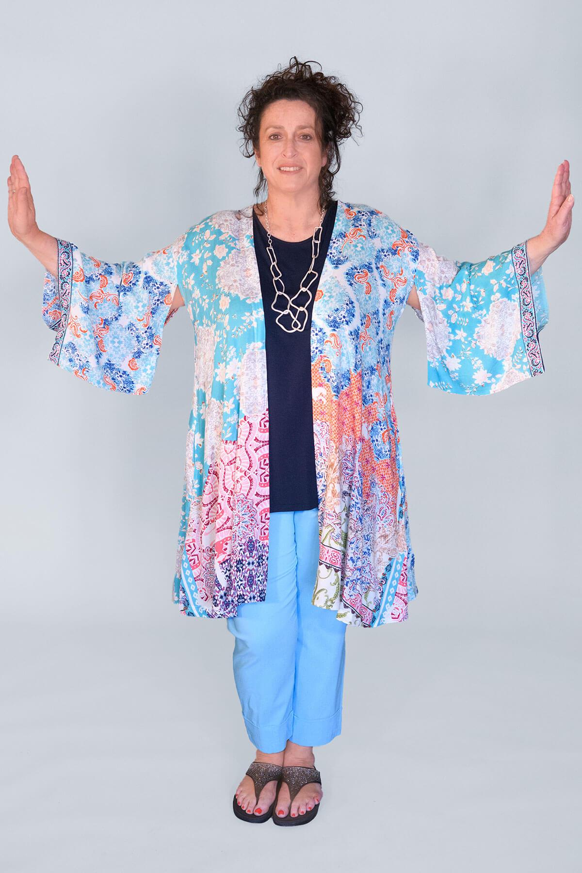 Orientique Madeira kimono