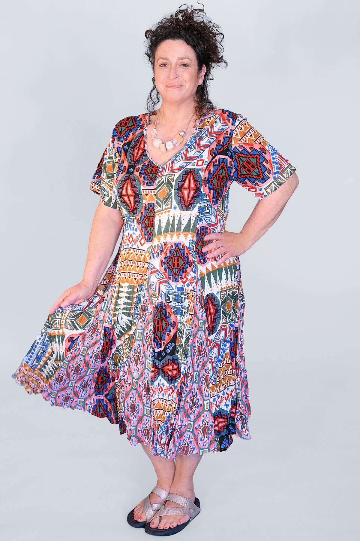 Orientique Santiago dress