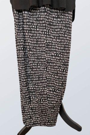 Q'neel spot harem trousers