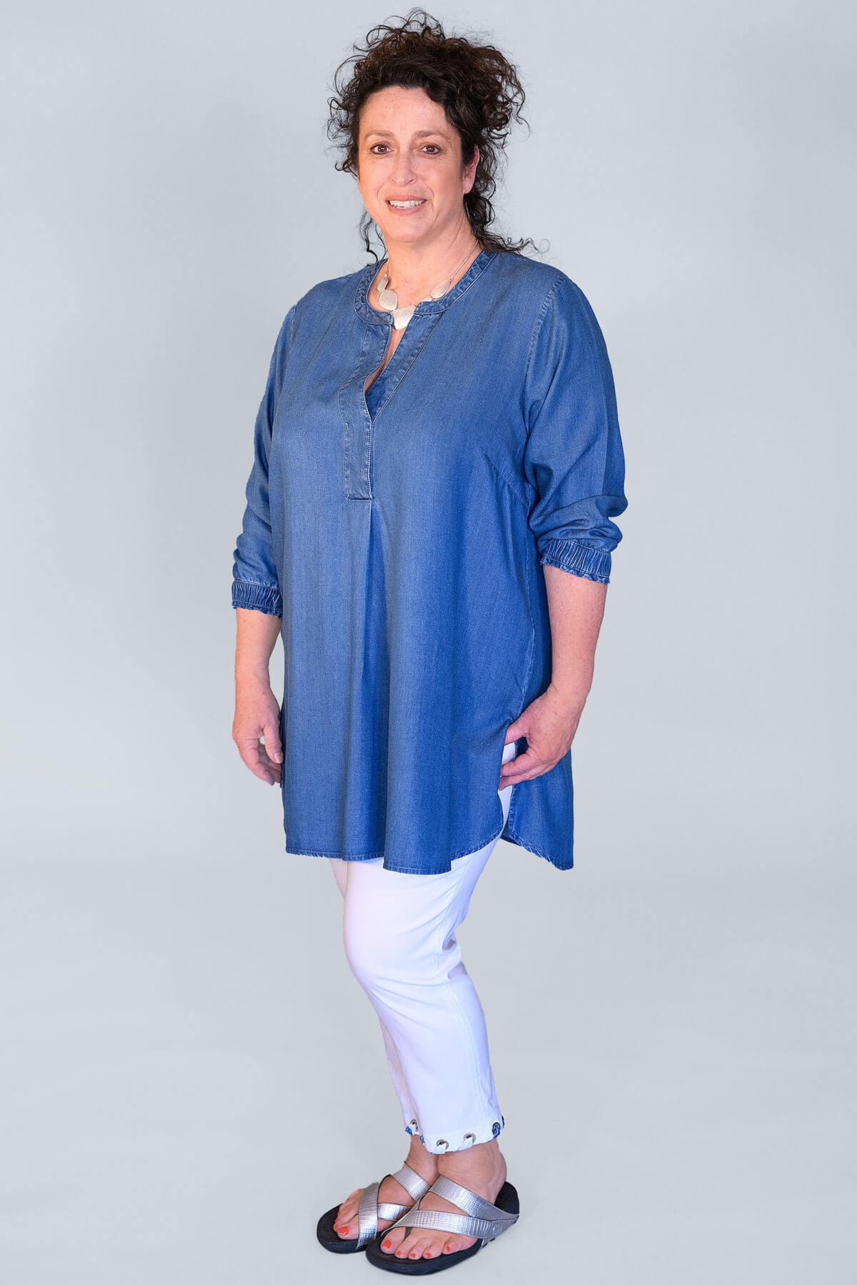 Via Appia tunic shirt
